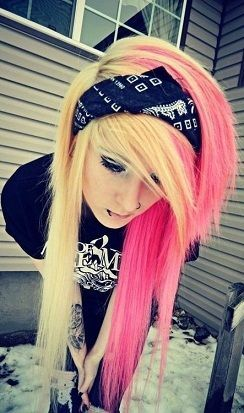 awesome Top 9 Emo Hairstyles For Long Hair.....