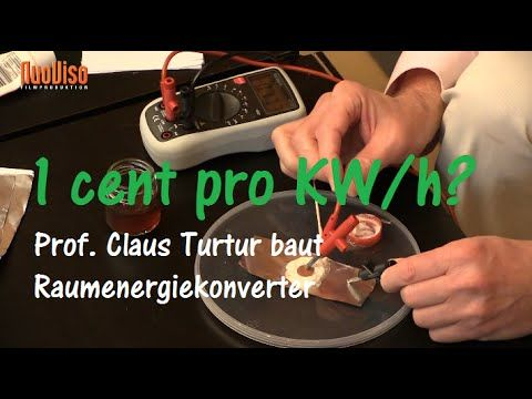 8. AZK – Prof.Dr. Claus Turtur – Freie Energie – YouTube – sokol