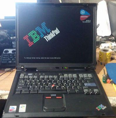 Lenovo T60 15.4'' 500GB/4GBnew windows 10  finger  reader bluetooth
