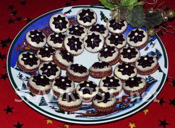 Kaštanové dortíčky s čokoládou