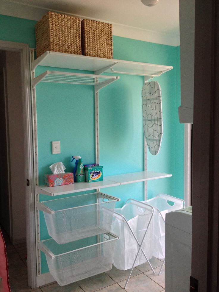 Algot System From Ikea Laundry Room Pinterest