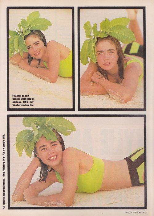 Dolly September 1988 | Vanessa Kelly | Bikini Beach 08