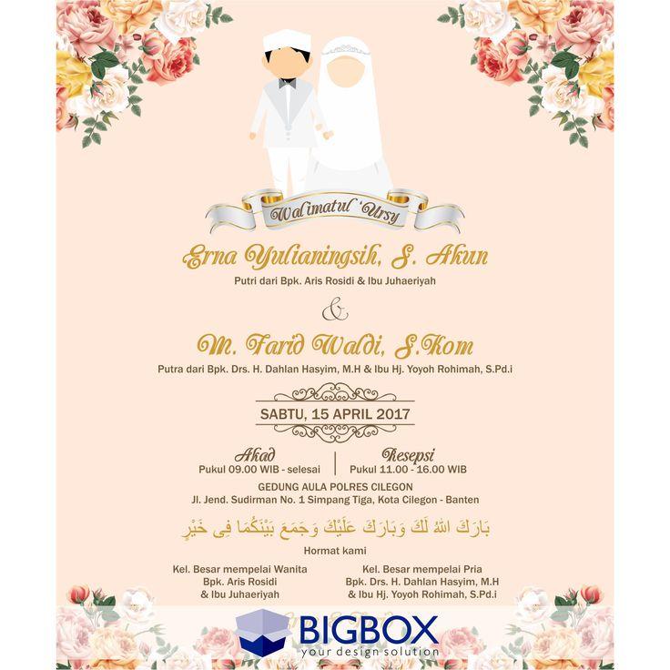 Pin Oleh Aldila Putri Di Wedding E Invitation Kartu Pernikahan Contoh Undangan Pernikahan Kartu Undangan Pernikahan