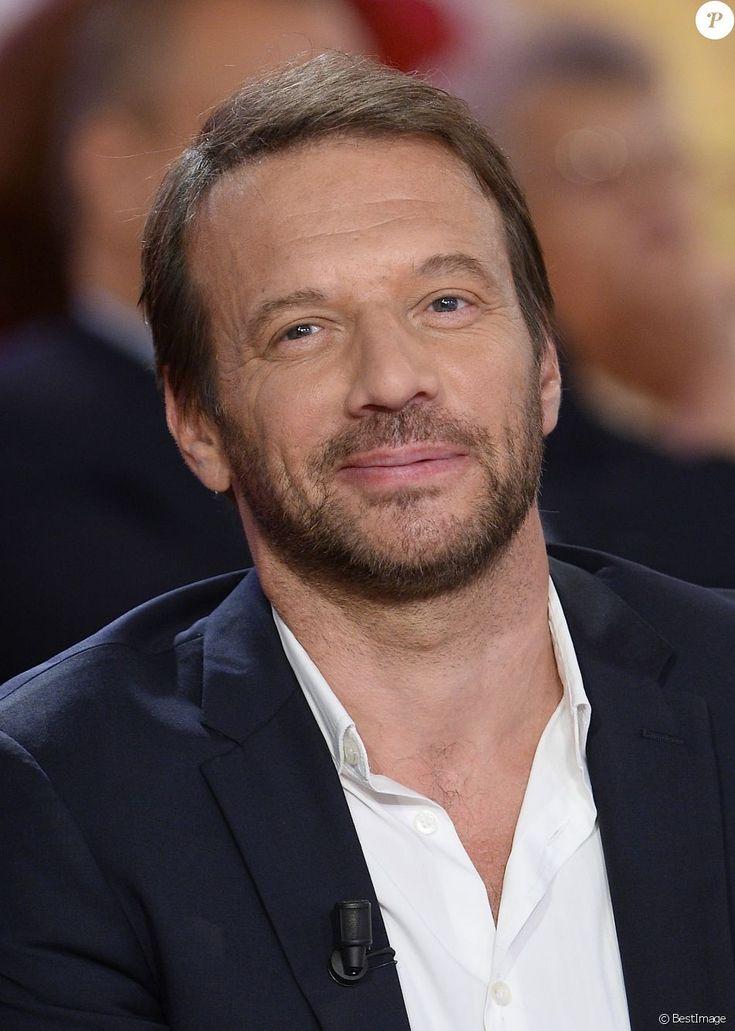 """Samuel Le Bihan - Enregistrement de l'émission """"Vivement Dimanche"""" à Paris le 2 Septembre 2015."""