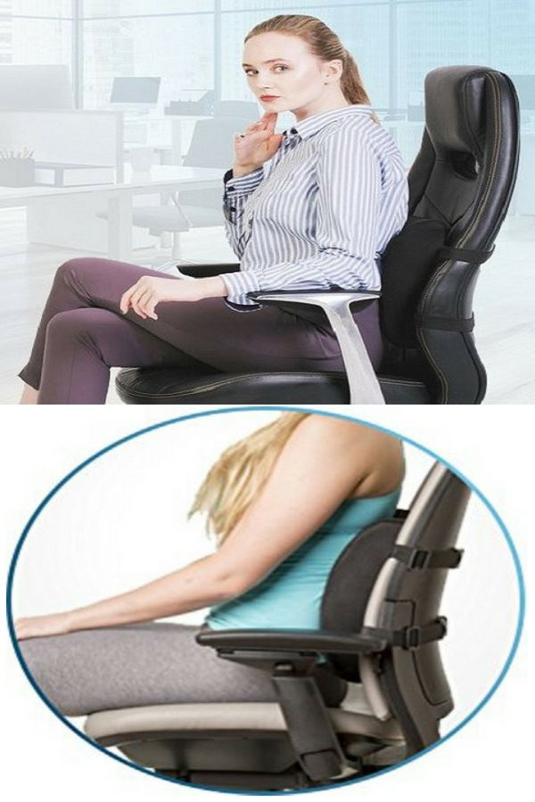 Lumbar Support For Chair Memory Foam Pure Products Best Pillow