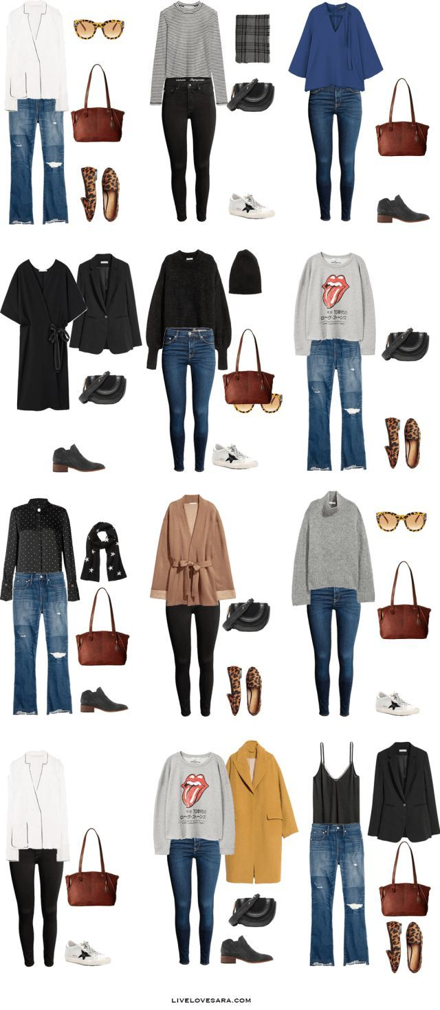 What to Pack for New York, Boston, and Philadephia Outfit Options 13-24