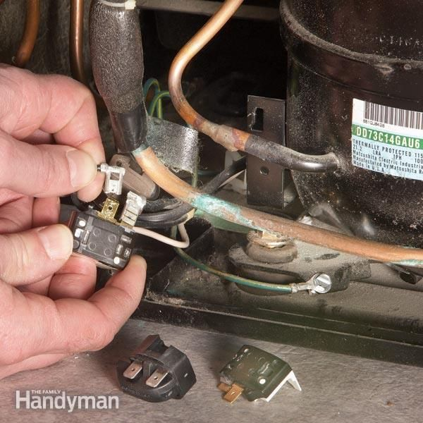 refrigerator problem? it could be the compressor (expensive!) but before you call the repair service, try these simple repairs. the problem may just be a bad overload or compressor relay.
