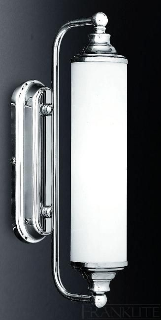 Cylindrical Bathroom Wall or Mirror Light - Franklite Lighting RRP: £130.32 Our Price: £117.28