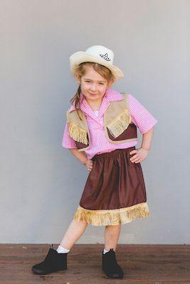 Cowgirl Costume | Dress Ups Kids