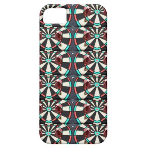 Dart Board Collage iPhone 5/5S Case