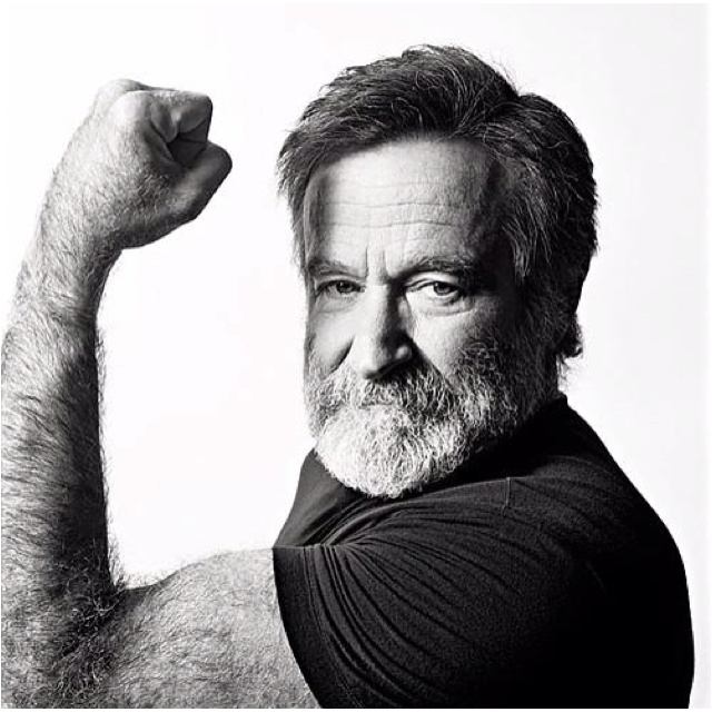 Robin Williams - one of my all-time favorite actors                                                                                                                                                     More
