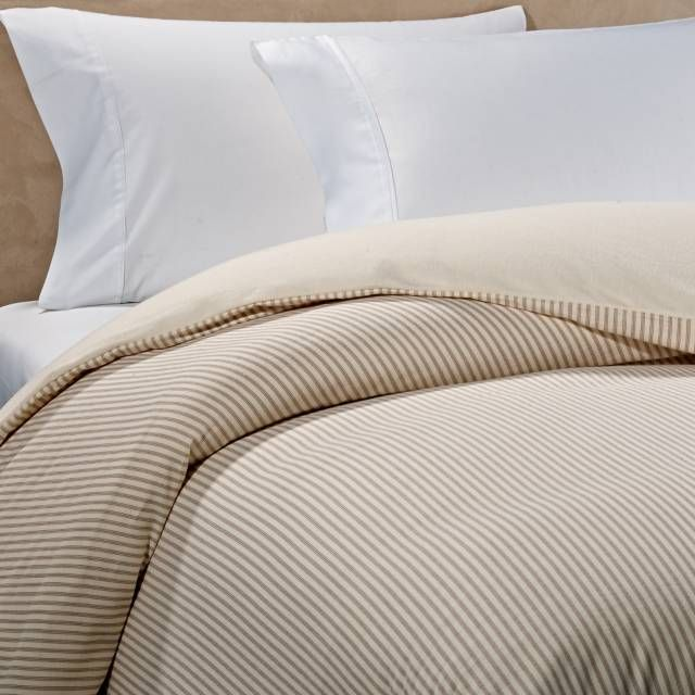 product image for The Seasons Collection® Reversible Flannel Duvet Cover