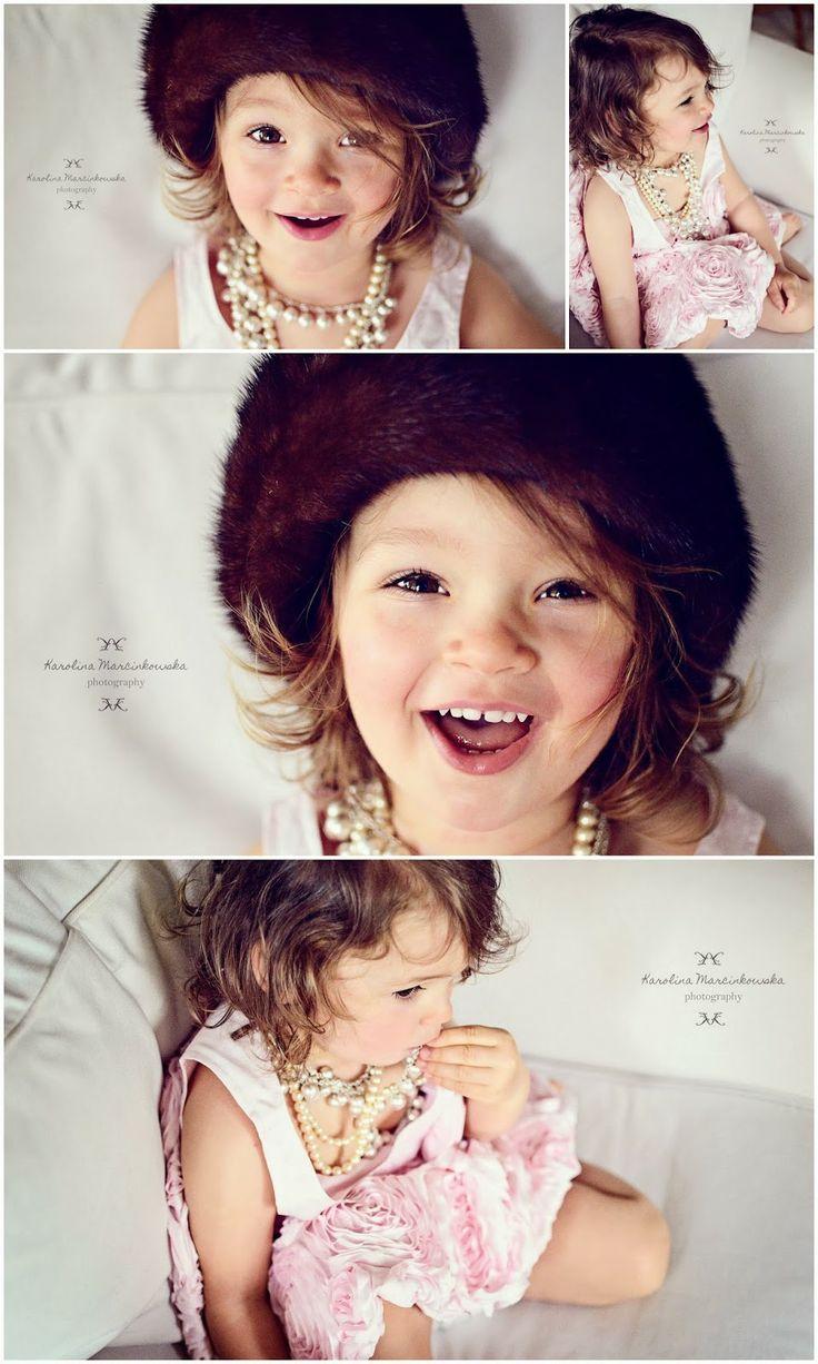 Vanity fair - child portrait, pastel photography