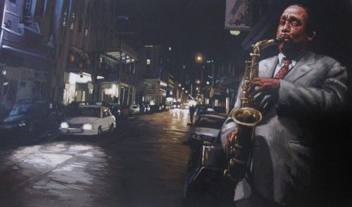 Long Street by Wakaba Mutheki | via Marzé Botha Art Gallery