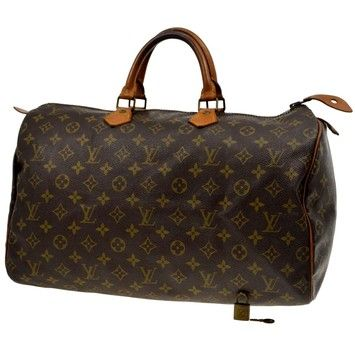 Louis Vuitton Speedy 40 Brown Bag - Satchel. Save 47% on the Louis Vuitton Speedy 40 Brown Bag - Satchel! This satchel is a top 10 member favorite on Tradesy. See how much you can save