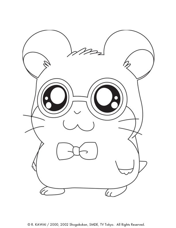 Cute Animal Coloring Pages Inspirational Cute Coloring Pages Animals Coloring Home Animal Coloring Pages Cute Kawaii Animals Cartoon Coloring Pages
