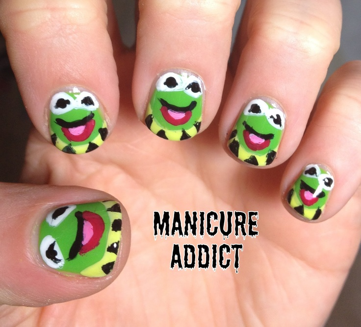 Frog Nail Art: 30 Best Images About FROG MAKEUP On Pinterest