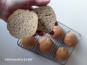 CDJetteDC's LCHF: Texie's bedste boller