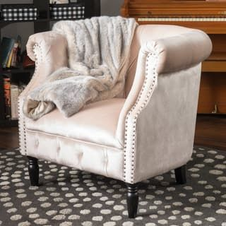 Shop for Akira Velvet Club Chair by Christopher Knight Home. Get free shipping at Overstock.com - Your Online Furniture Outlet Store! Get 5% in rewards with Club O! - 22809206
