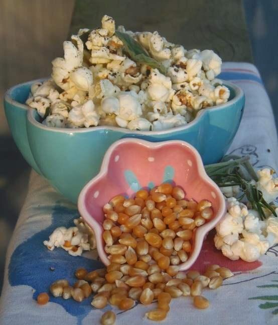 "truffled"" rosemary sage popcorn | Favorite Recipes | Pinterest"