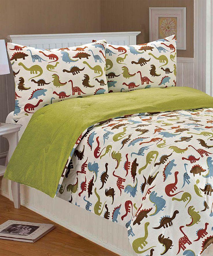 Dinosaur Bedding. | For my boy | Dinosaur comforter ...