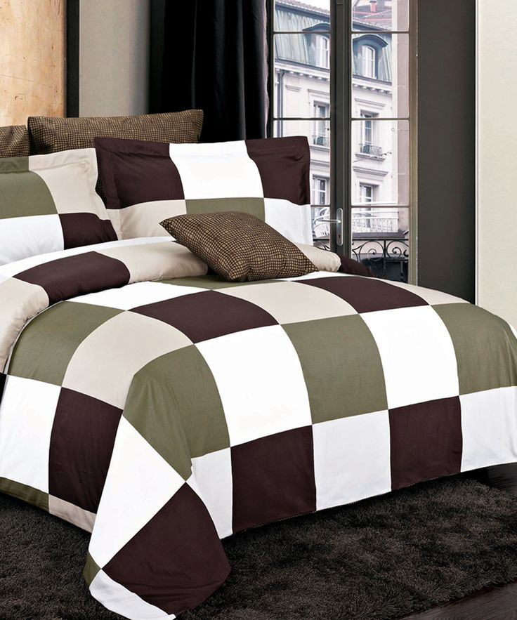 North Home Parker Brown Duvet Cover