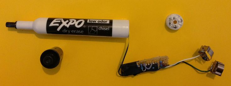 James Bond's Dry Erase Marker: The Hotel PenTest Pen