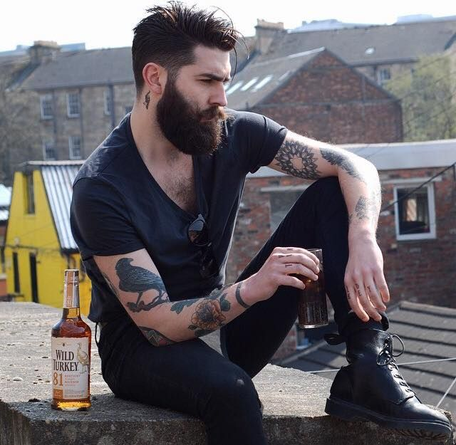 Best Cjms B E A R D Images On Pinterest Hairstyles Clothes - Incredibeard glorious beard