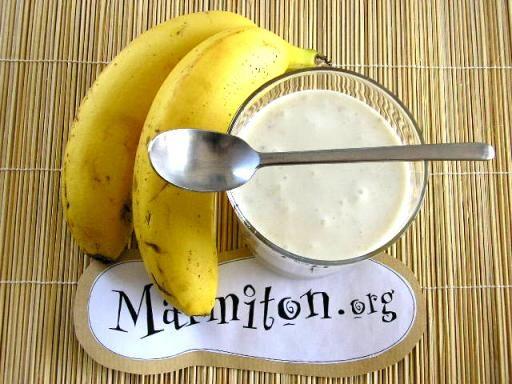Mousse de banane : Recette de Mousse de banane - Marmiton