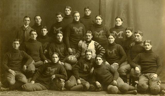 Tým, Americký Fotbal, Texans, 1899, Černá A Bílá