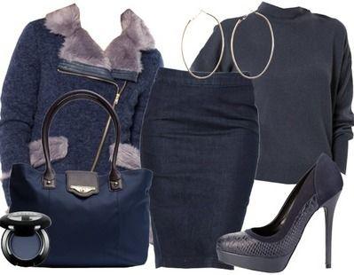 On aime le total look bleu pour un dîner en amoureux! Retrouvez tous les détails de la tenue ici: http://stylefru.it/s891020 #tenue #bleu #amoureux #saintvalentin