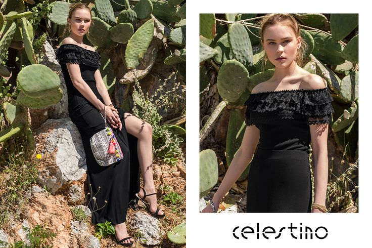 Today we got inspired from flamenco charm! #ootd #Celestino #skirt #maxiskirt #fashion #style #inspiration #outdoors #photography #newin #SS17