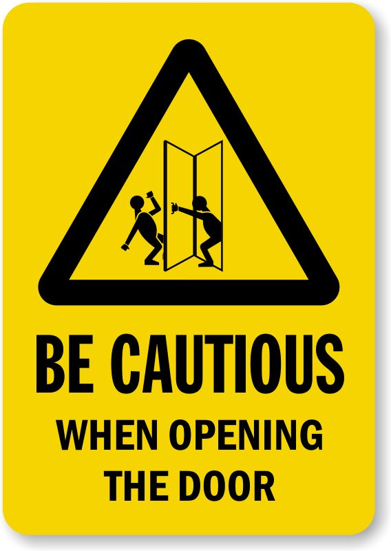 Cautious  = Attentive to potential problems or dangers.