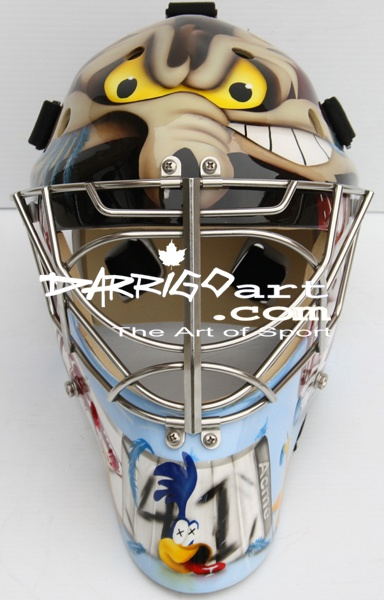 Mike Smith's (of the Phoenix Coyotes) new mask.