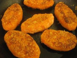 Постные морковные котлеты - ингредиенты, рецепт приготовления с фото