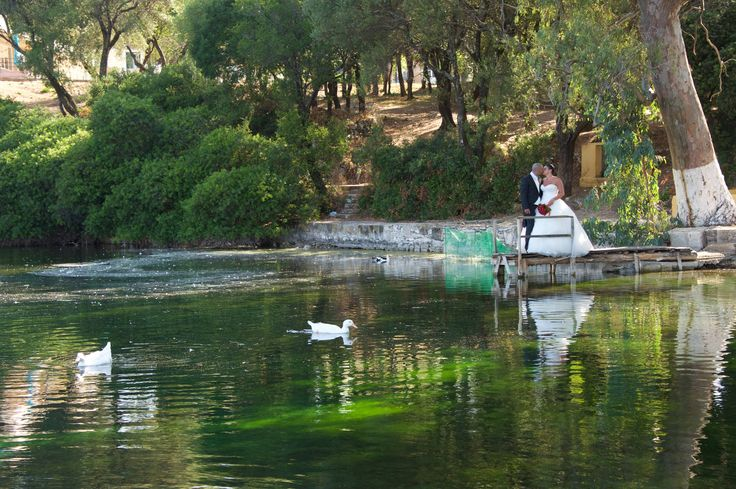 Wonderful landscape - Just kiss - Just hapiness #weddingphotos #weddingvenues #weddingingreece #kefalonia