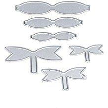 Troqueles,Culater Metal Scrapbooking para Máquina Troqueladora y Estampadora,Cutting Pad Replacements,DIY Juego de Troqueles (F)