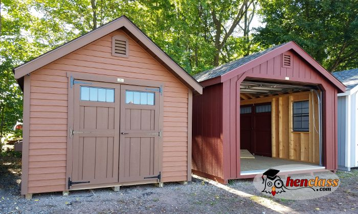 Prefab sheds make great goat barns, especially when you have more time than money. Learn how to convert prefab sheds into the ultimate goat barn.