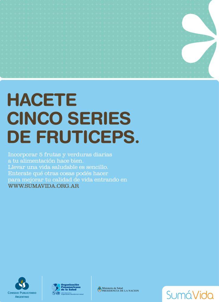 """""""Sumá vida -fruticeps-"""" 2008"""