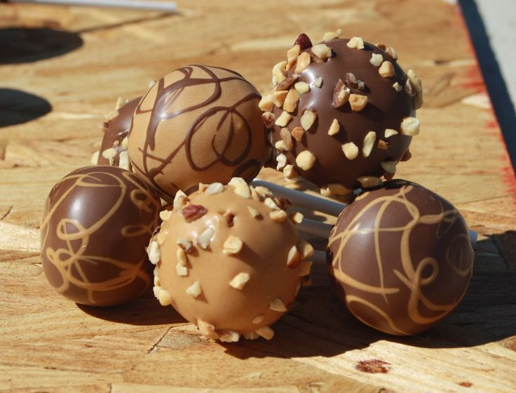 Image Result For Cake Ball Coating With Chocolate Chips
