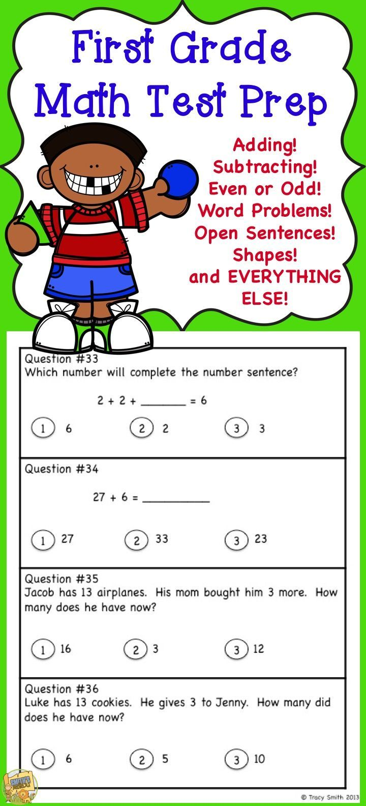Grade 1 Math Test Prep Tons Of Practice Questions To Get Your