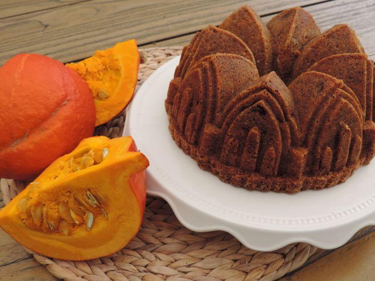 Pompoen cake met sinaasappel en rozijnen | Lekker Tafelen