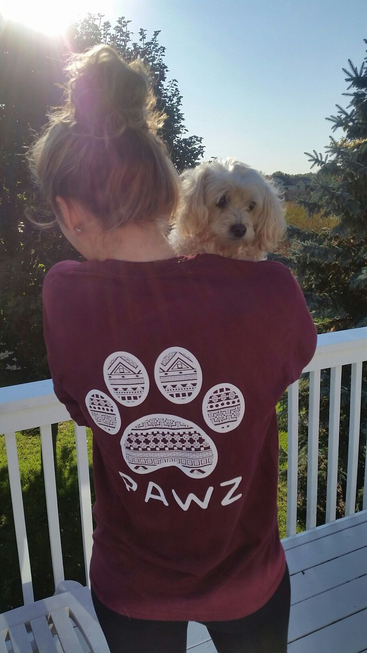 Love my pawz shirt! 10% of the profit is donated to save animal shelters♡Follow Pawz on instagram and pinterest!! Pawz.com