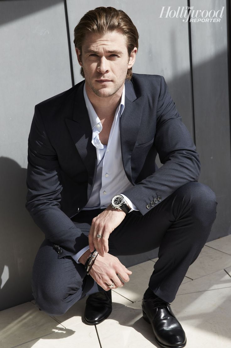 Exclusive Portraits of Chris Hemsworth: Superhero Slims Down to Play Formula One Racer