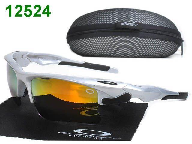 Cheap New Oakley Gorgeous Anti-UVA White Orange Square Face Sunglasses#Oakley Sunglasses