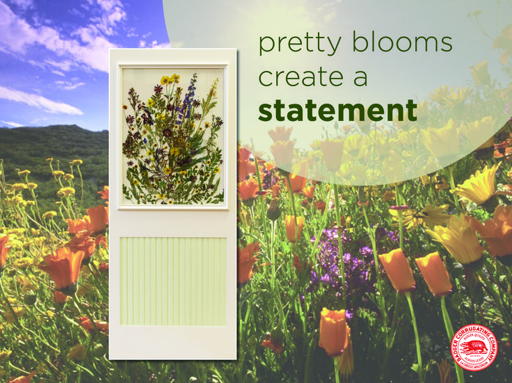 Art doesn\u0027t always need to stay on the walls - pressed garden flower art & 52 best Badger Interior Doors \u0026 Millwork images on Pinterest ... Pezcame.Com