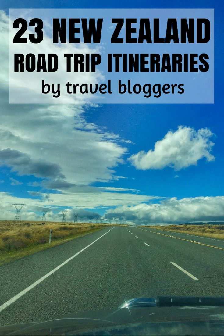 Travel bloggers love New Zealand road trips. Luckily for you many blog about their itineraries.  Here's 23 road trip itineraries ranging from four days to two months.  Time to get started planning your New Zealand road trip!