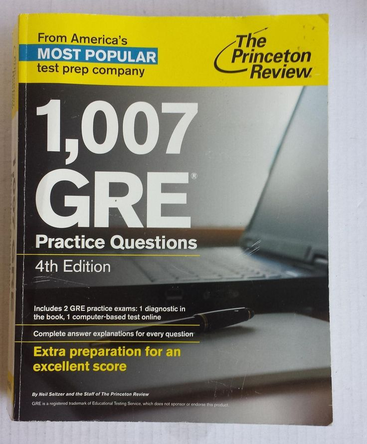 #book Graduate School Test Preparation: 1,007 GRE Practice Questions by Princeton Revi withing our EBAY store at  http://stores.ebay.com/esquirestore