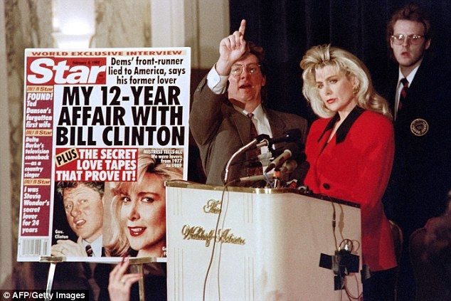 Gennifer Flowers reveals a married Bill Clinton paid for her $200 ABORTION when she became pregnant just months into their 12-year affair
