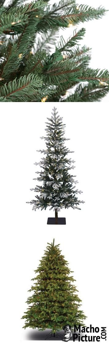 Most realistic artificial christmas tree - 4 PHOTO!